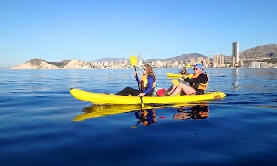 Double Kayaking Trips In Benidorm