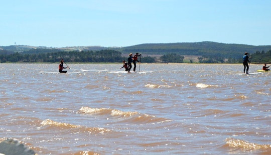 Sup Lessons And Ride In Óbidos