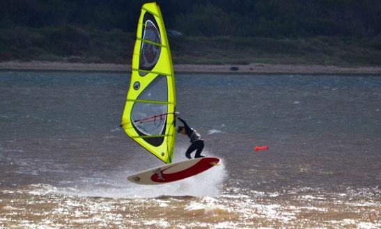 Windsurfing In Óbidos