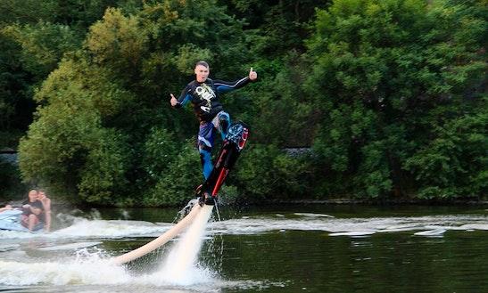 Hoverboarding In Davle