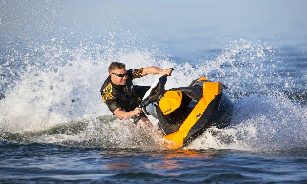 SeaDoo Spark Jet Ski Hire in Davle
