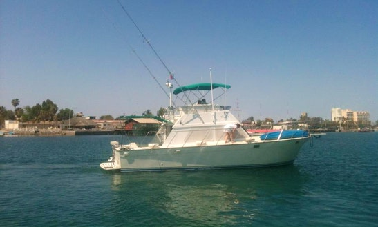 40' Twin Diesel Sport Fisher/cruiser In La Paz!
