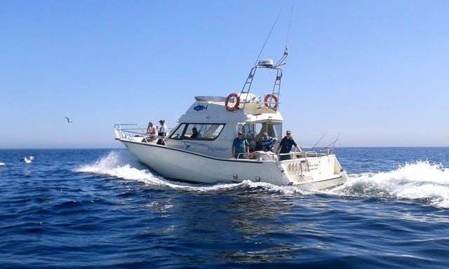 "41' ""Silver Dawn"" Sport Fisherman Fishing Charters in Cork, Ireland"