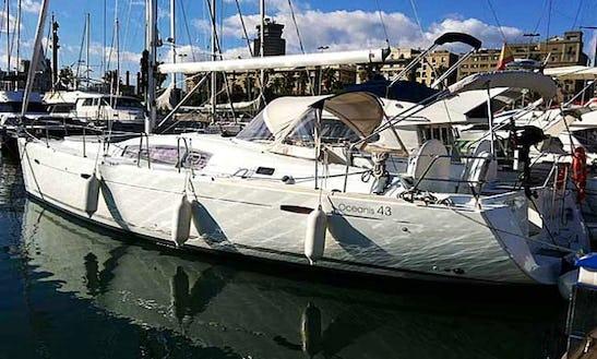 Charter Beneteau Oceanis 43 In Lisbon