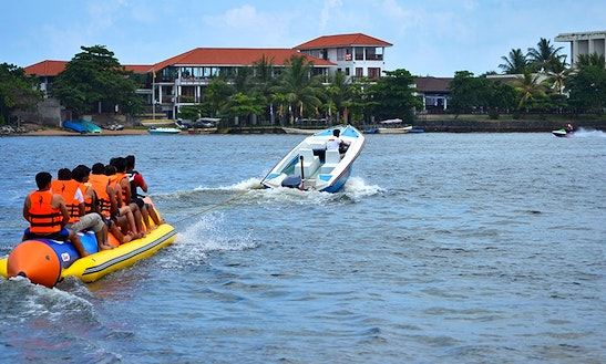Banana Boat Ride In Negombo