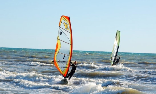 Windsurfing Lessons In Fiumicino