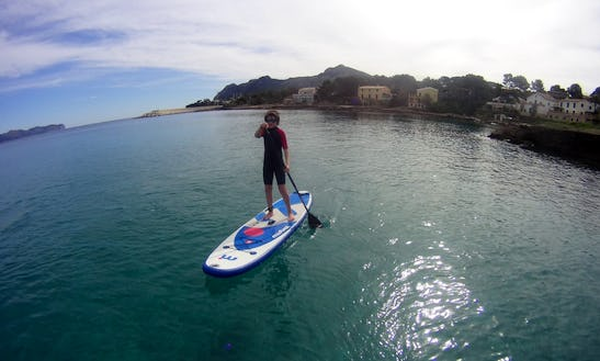 Paddleboard Rental And Lessons In Pollença