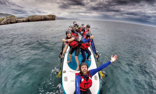 Giant Paddleboard Rental In Llanes
