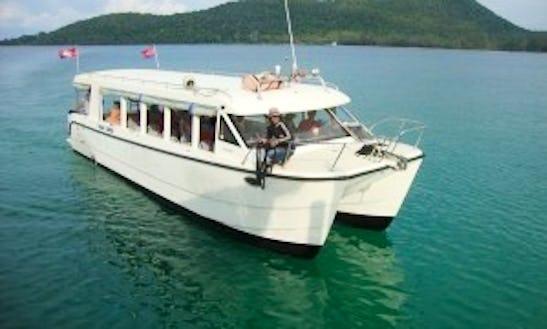 """""""fastcat"""" Catamaran Rental In Krong Preah Sihanouk"""