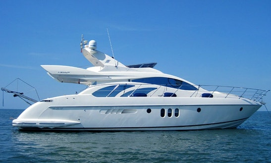 Azimut 55 Power Mega Yacht Charter In Larnaca