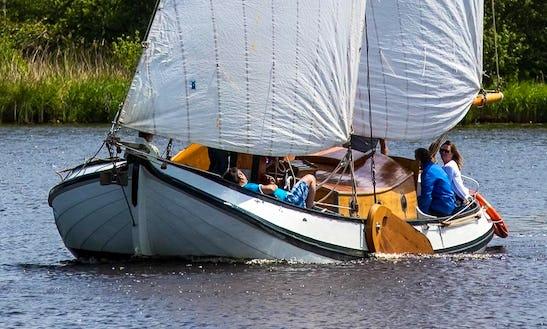 Small Skûtsje Boat Trips In Earnewald