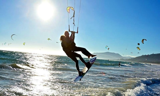Fly In Tarifa While Kiteboarding!