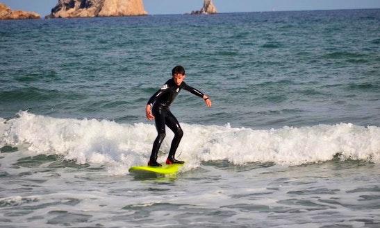 Surfing In Torroella De Montgrí