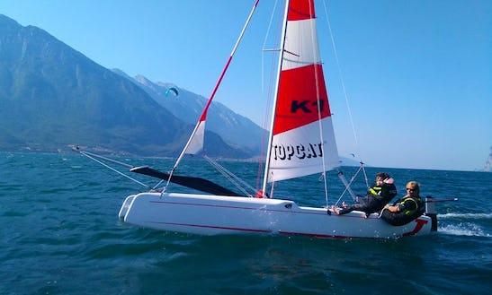 Beach Catamaran Rental In Limone Sul Garda, Italy