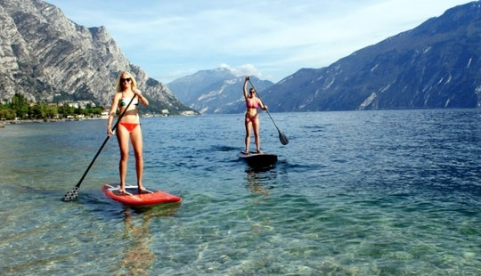Stand Up Paddle Rental In Limone Sul Garda