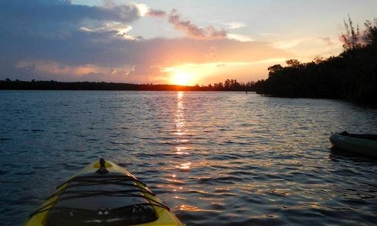 Tandem Kayak Rental & Tours In Port St. Lucie, Florida
