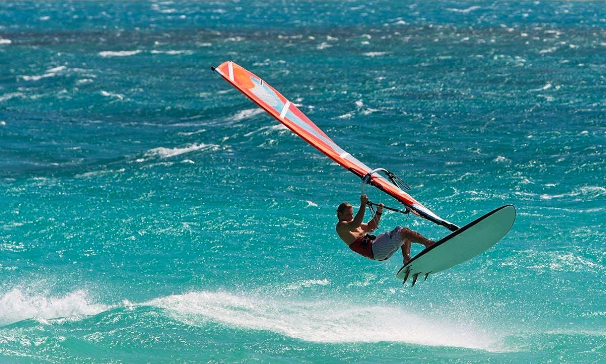 Windsurfing in Gargnano