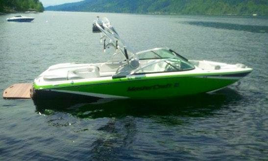 Mastercraft X14v Boat Rental In Sicamous