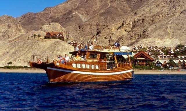 Houseboat rental in Eilat