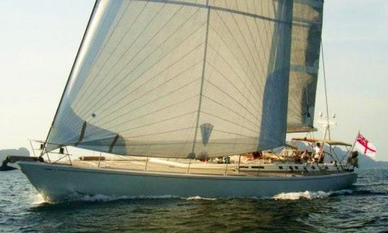 Nautor's Swan Sailing Mega Yacht Charter In Tambon Mai Khao