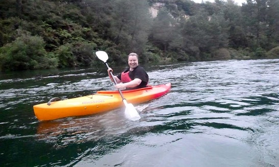 Single Kayak Hire & Tours In Taupo, New Zealand