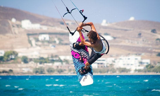 Learn To Kiteboard With Our Instructors In Paros, Greece