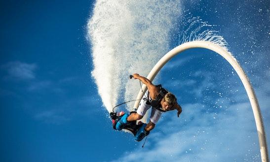 Flyboarding In Ajaccio, France