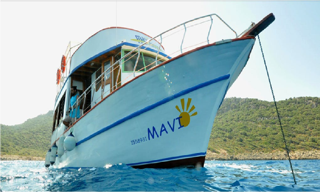Mavi Diving Boat Trips in Antalya