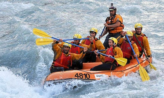 Enjoy Rafting Trips In Runaz, Valle D'aosta