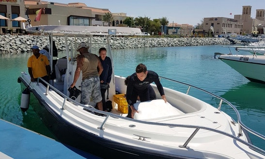 Fishing Charter On 35' Sport Fisherman Yacht In Dubai, Uae
