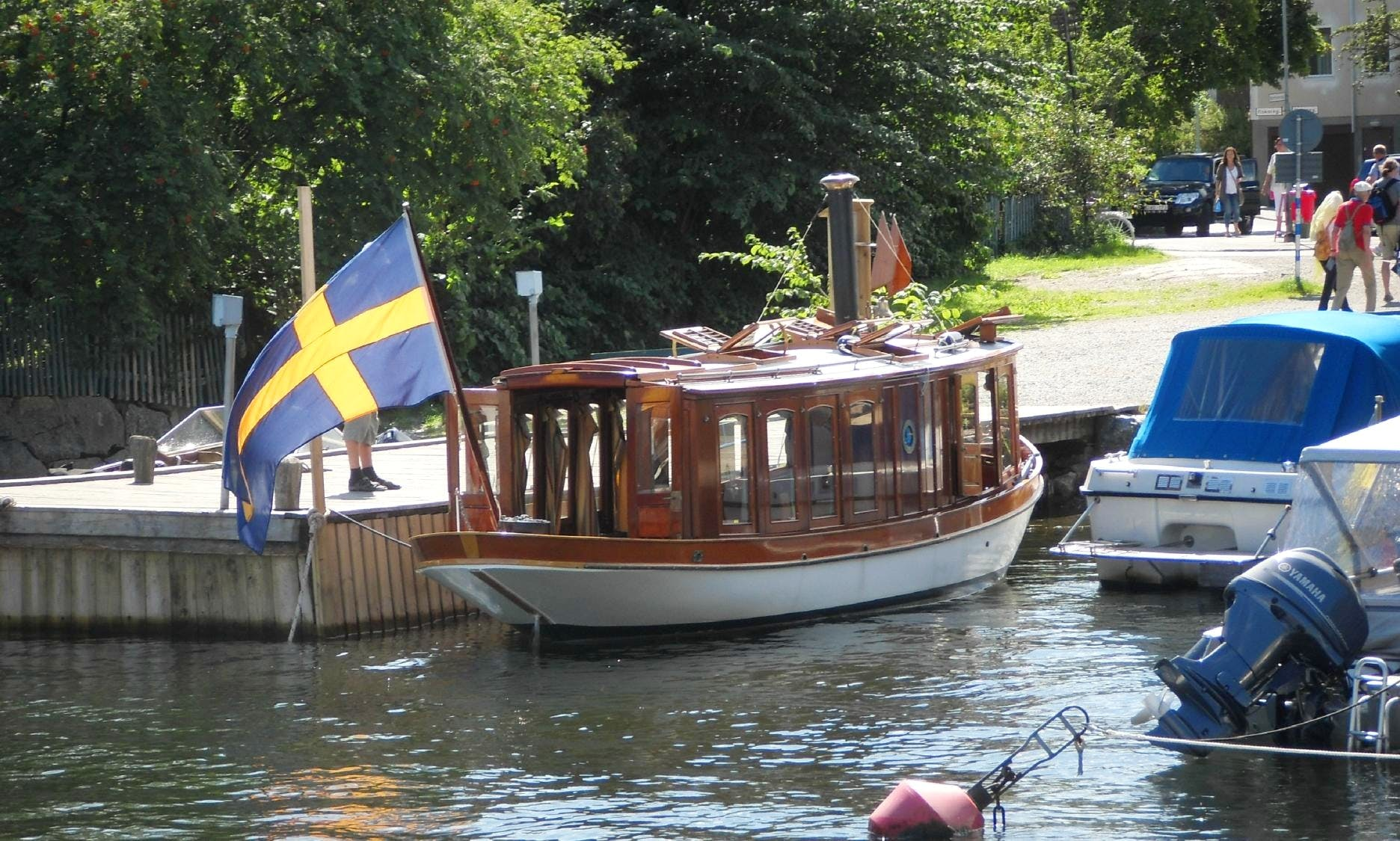 31ft 'Hjerter King'  Rental in Vaxholm