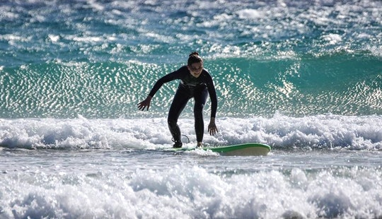 Surfing Lessons In Costa Adeje