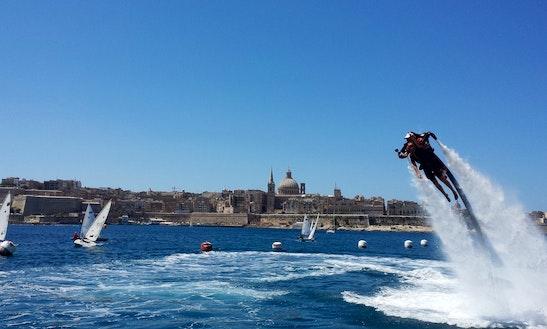 Flyboarding In Tas-sliema, Malta