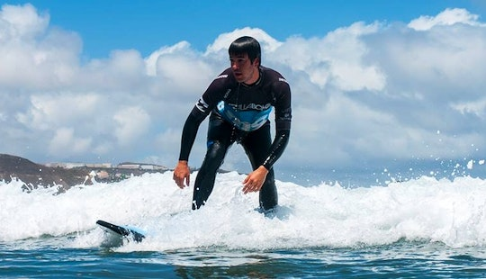 Learn To Surf With The Best Surfers In Las Palmas De Gran Canaria, Spain