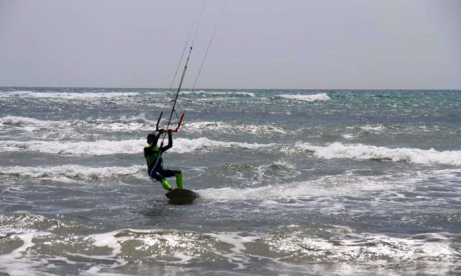 Kiteboarding in Senigallia