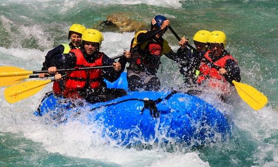 Rafting In Bovec