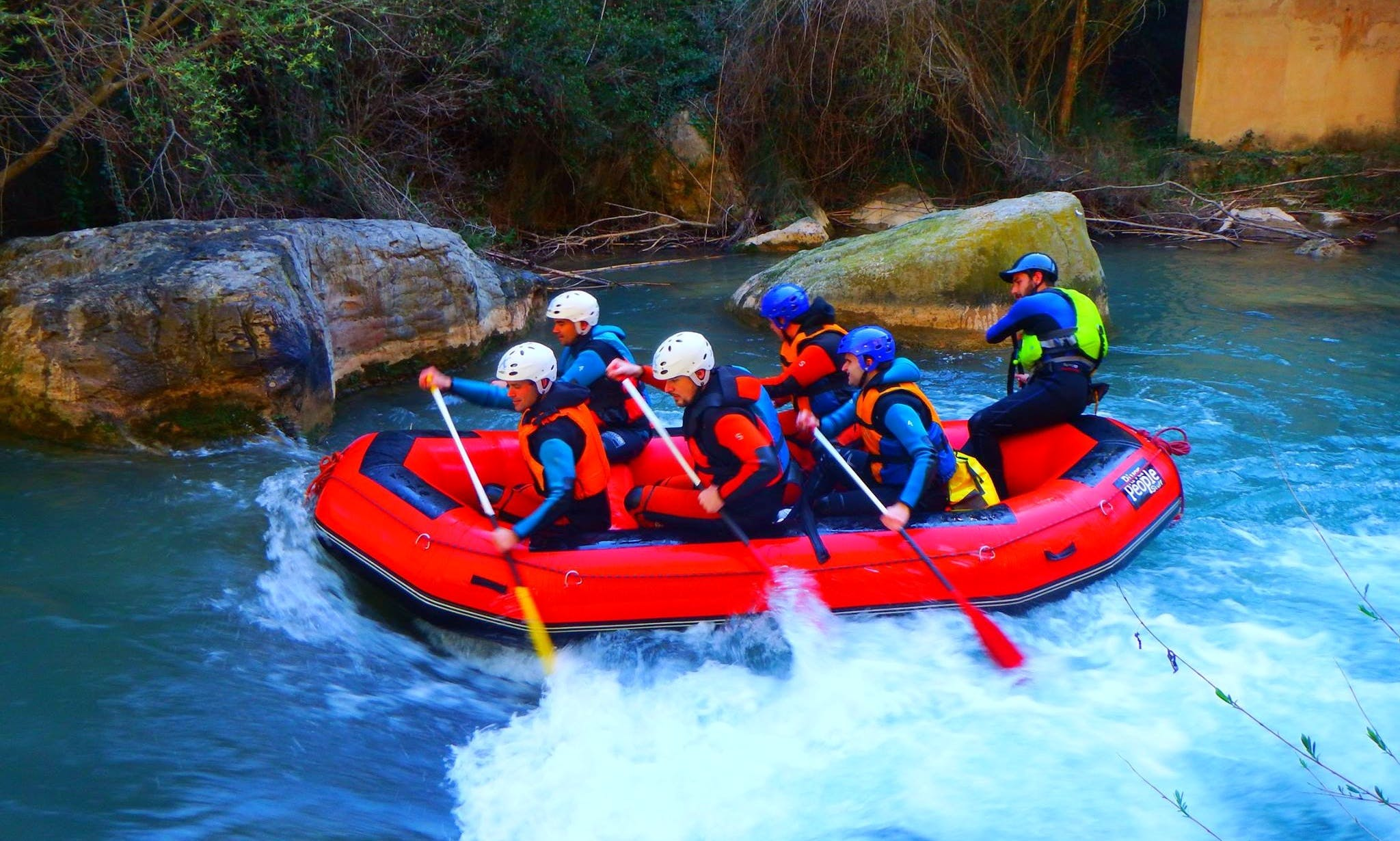 Rafting in Montanejos