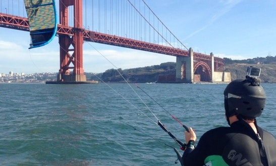 Kiteboarding In San Francisco, California