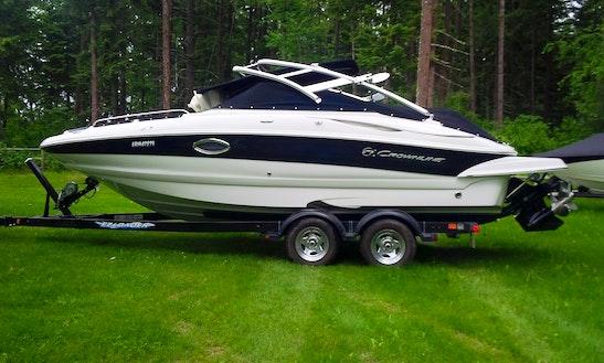 Crownline 220ex Boat Rental In Sicamous