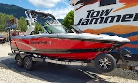 Mastercraft X10 Boat Rental In Sicamous