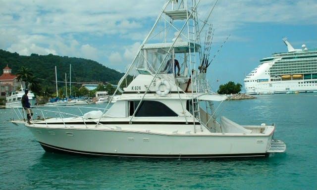 "Charter a ""Magic Time"" Sport Fisherman Yacht in Ocho Rios, Jamaica"