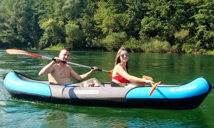'Double Kayak' Trips in Bajina Bašta