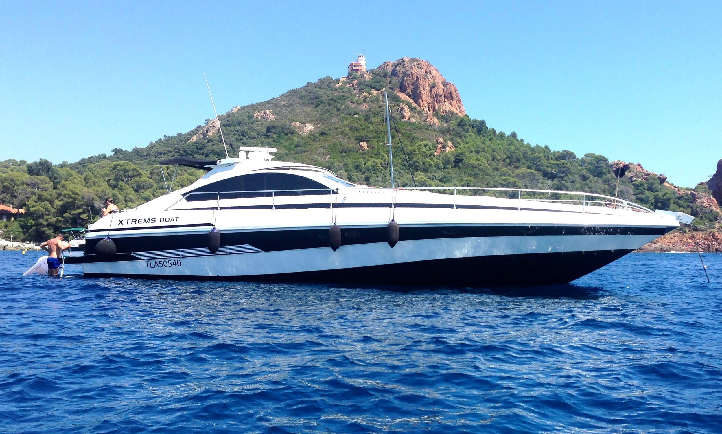 Pershing 62 Motor Yacht Charter in Saint-Raphael, France