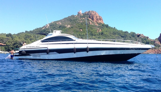 Pershing 62 Motor Yacht Charter In Saint-raphael, France