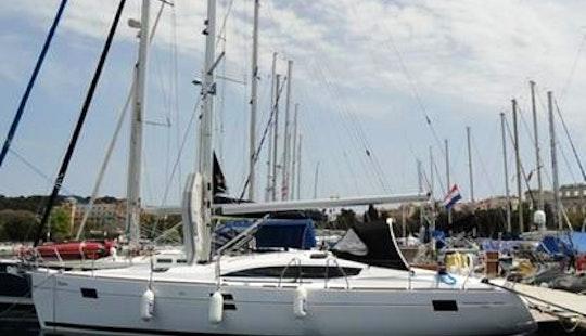 Elan 444 Impression Sailing Yacht Charter In Pula