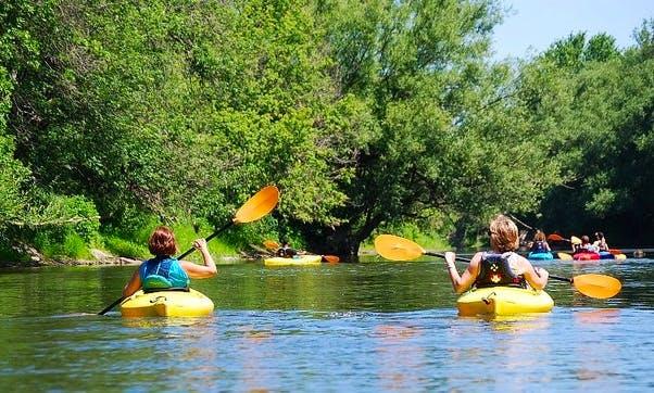 Rent SIngle Kayak In Huntingdon
