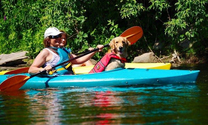 Tandem Kayak Rental In Huntingdon