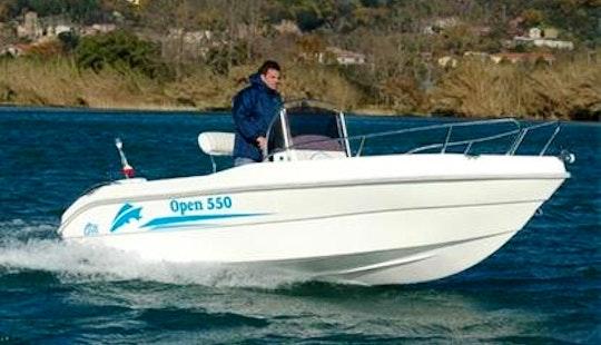Nautica Open 550 Elite Boat Hire In Pula