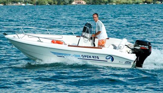 Nautica Open 470 Boat Hire In Pula