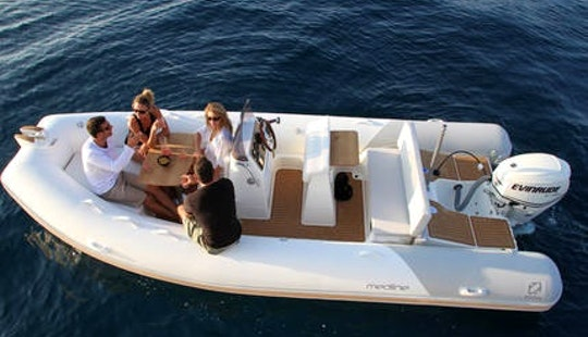 Zodiac Medline 540 Boat Hire In Pula